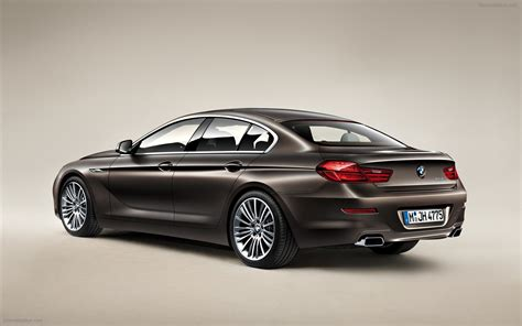 bmw 6 series gran coupe 2013 widescreen car picture