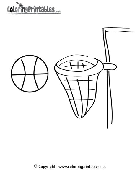 basketball net coloring pages related keywords suggestions for net coloring page