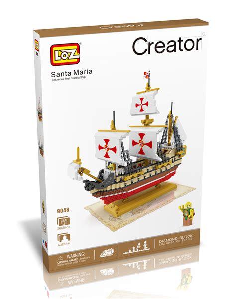 Lego Nanoblock Sailing Hello loz 9048 kit nanoblock barco santa mar 237 a 2660 mini bloques indalchess tienda de coches para