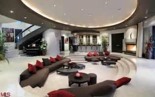 la modern mansion living room home ideas