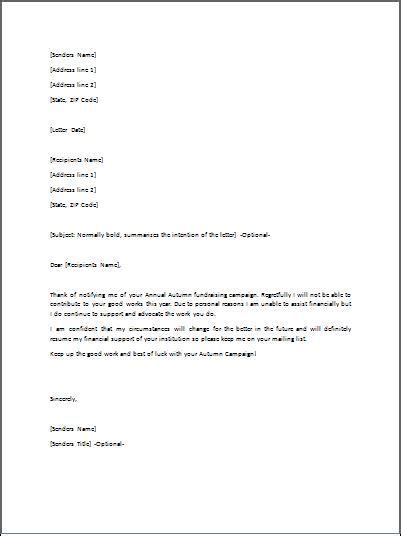 appointment refusal letter sle refusal letter is mostly used to refuse an appointment of