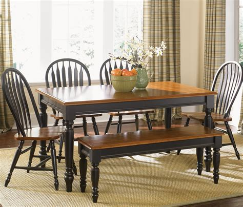 Country Dining Table Set Liberty Furniture Low Country Six Dining Set With Turned Legs Wayside Furniture Table