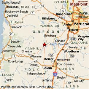 map mcminnville oregon mcminnville or pictures posters news and on