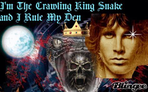 jim morrison crawling king snake picture 125278007