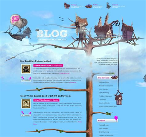 design bloggers 50 beautiful and creative blog designs smashing magazine