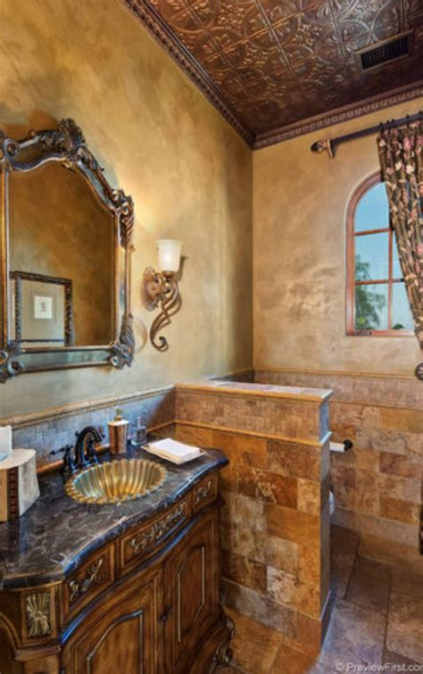 Best 25 Tuscan Bathroom Ideas On Tuscan