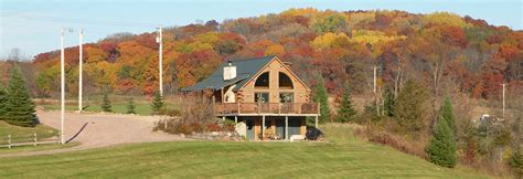 Log Cabin Baraboo by Rustic Ridge Log Cabins Rustic Ridge Log Cabins In