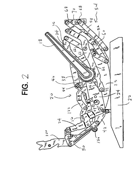 recliner chair repair parts patent us6945599 rocker recliner mechanism google patents