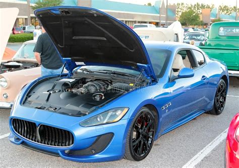 black maserati sports car maserati sports car editorial stock photo image 44933828