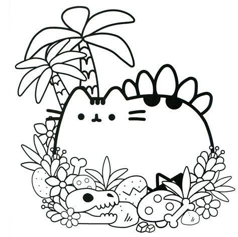 coloring pages for pusheen the cat pusheen coloring book pusheen pusheen the cat pusheen