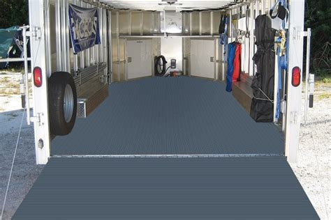 Utility Trailer Flooring by Roll Out Trailer Flooring Vinyl Trailer Flooring