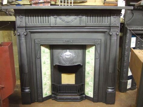 Edwardian Fireplace Surround by Edwardian Cast Iron Fireplace Surround 243cs