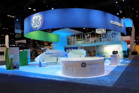 creating the best tradeshow booth design in las vegas best trade show booth g e renewables at windpower 2013