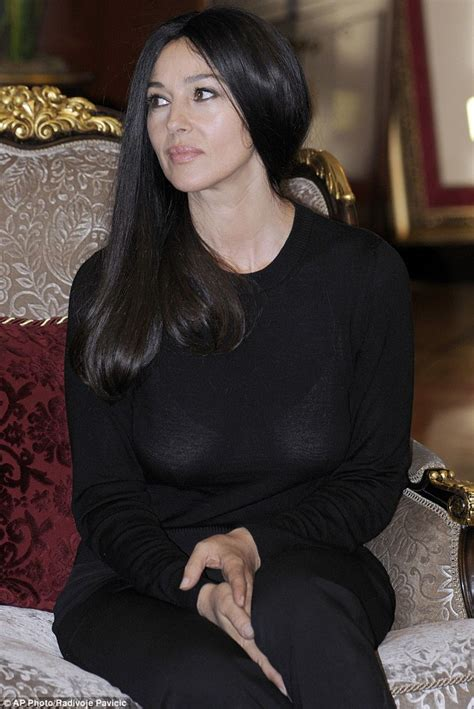monica bellucci personality monica bellucci looks stylish while out shopping for bras