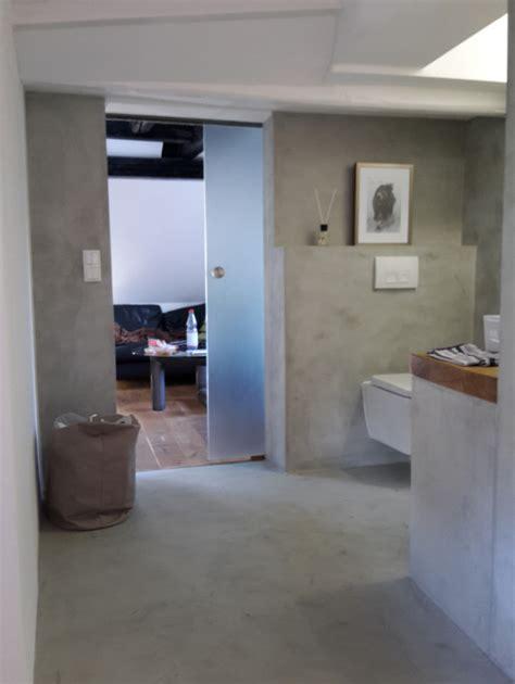 Wasserdichter Putz Dusche by Fugenlose Design B 246 Den Fugenloser Putz Im Bad Beton Cire