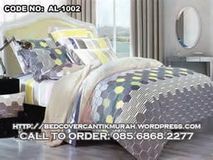 Ready Stock Bedcover Set Katun Jepang kode barang al 1002 sprei dan bed cover eksklusif harga murah pusat bed cover cantik