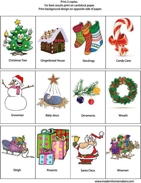 free printable christmas memory games christmas memory game modern homemakers