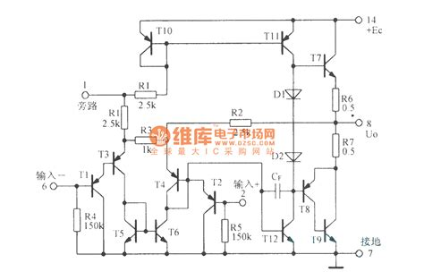 integrated audio lifier circuit integrated audio power lifier circuit lm380 lifier circuits audio lifier circuit