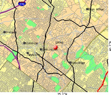 Phone Lookup Pa Jenkintown Pa Zip Code Map Zip Code Map