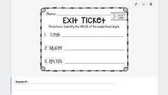 Exit Slips Template by Teaching To Engage Creating Digital Exit Slips Using