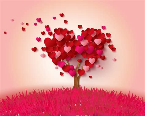 love heart pink 1600x900 hd wallpaper love wallpapers download wallpaper 1280x1024 love hearts tree pink and