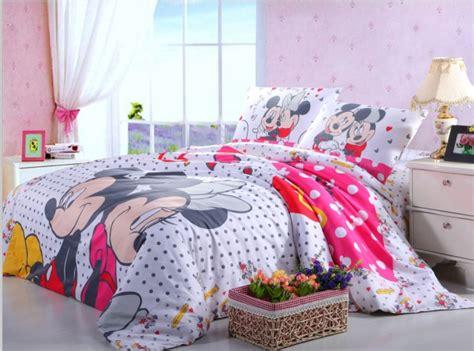 Bedcover Set 180x200x20cm Jaxine Polkadot Black Pink Pink Black Polka Dot Mickey And Minnie Mouse Bedding Sets