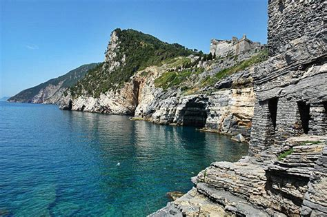 porto venere liguria portovenere in italy province of la spezia liguria