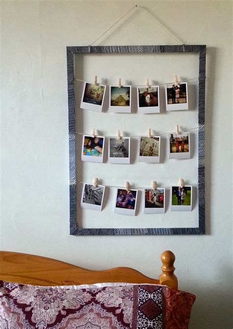 Mission Style Home Decor by Diy Pinterest Inspired Project For Polaroid Style Picture