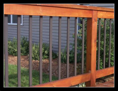 Flat Metal Deck Balusters Mount Balusters Deck Expressions