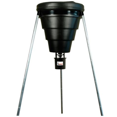 American Feeder american 174 225 lb collapsible tripod feeder with r kit pro and varmint buster