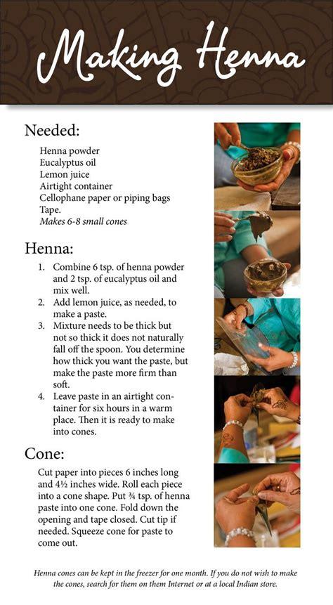 henna tattoo ink recipe how to make henna to info henna