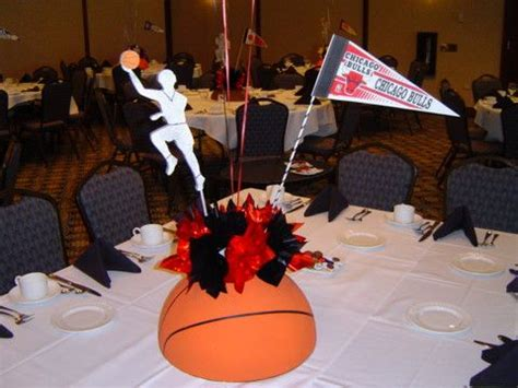 sports themed table decorations 17 best images about basketball banquet on