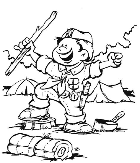 Scouts Coloring Pages Scout And Promise Coloring Pages Free