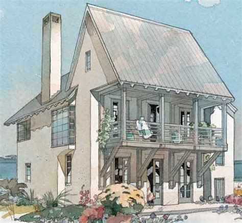 coastal cottage plans coastline cottage coastal living southern living house