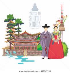 South Korean Culture Essay by Recovery Rig Industry Stock Vector 379644157