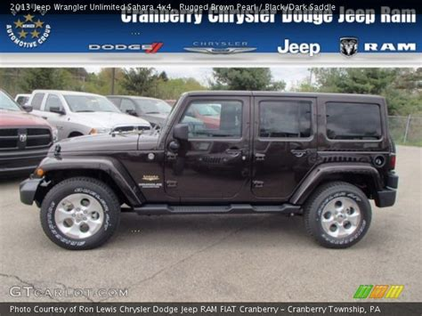 Browns Jeep Service Rugged Brown Pearl 2013 Jeep Wrangler Unlimited