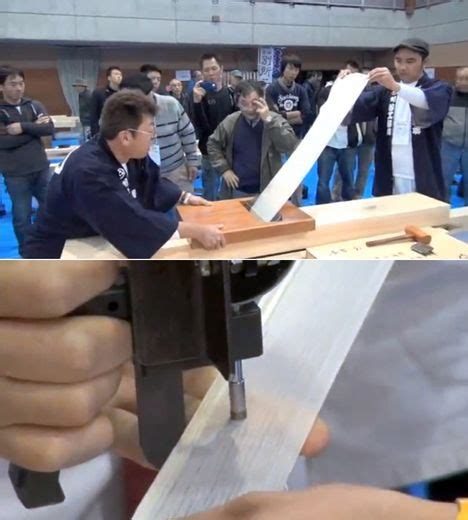 woodworking competition japanese wood planing competition golgo73