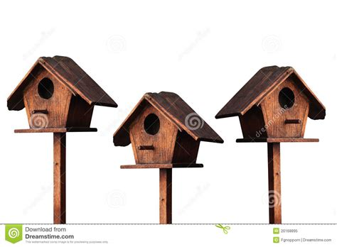 wooden bird houses wooden bird house royalty free stock photo image 20168895