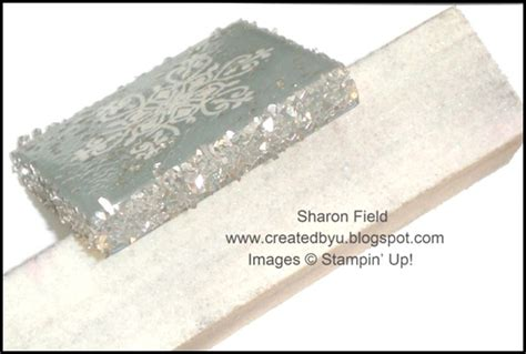 Created By You Super Saturday Tutorial Two Glass Glitter