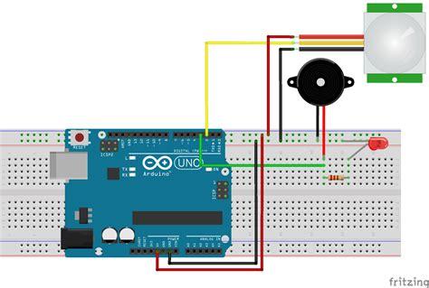 arduino motion sensor detector using pir sensor complete