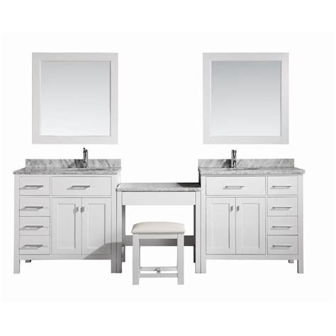 home depot design vanity design element two london 36 in w x 22 in d vanity in