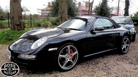 porsche 911 convertible black porsche 911 s 3 8 sport cabriolet convertible