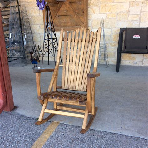 porch rocking chairs on fixer plum creek rocker as seen on hgtv s fixer