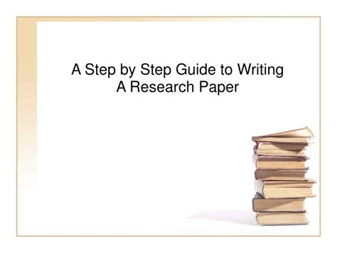 how to write a research paper step by step write a research paper step by step dissertation defense