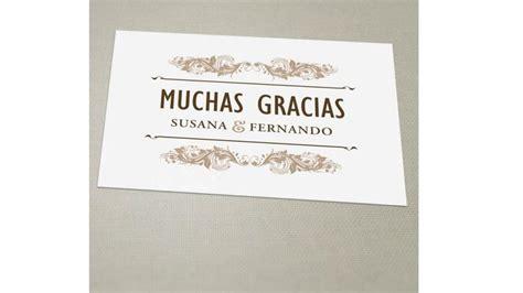 Gracias Card Template by Tarjetas De Agradecimiento Calidad Premium