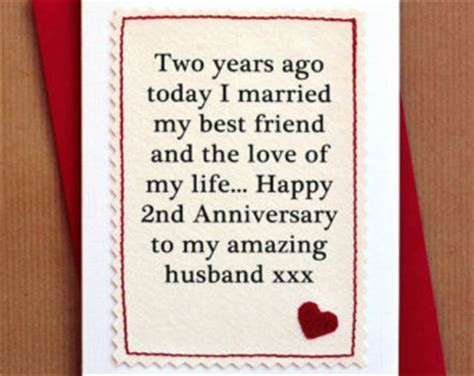 2nd Anniversary For Husband Quotes. QuotesGram