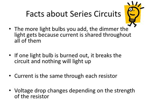 facts about electricity circuits facts about resistors in series 28 images facts about