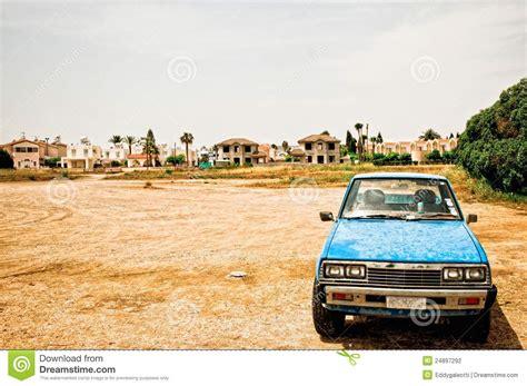 Landscape Photography Vehicle Car In Desolate Landscape Stock Photo Image 24897292