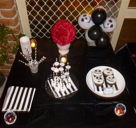 nightmare before decorations tim burton 21st birthday in