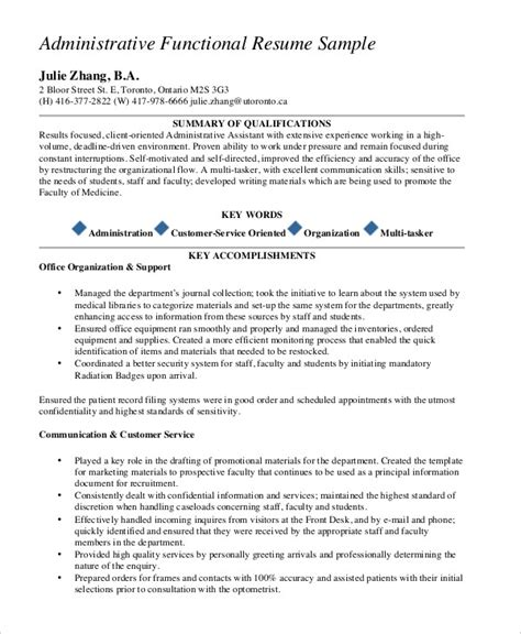 functional summary resume exles customer service 10 functional resume templates pdf doc free premium templates